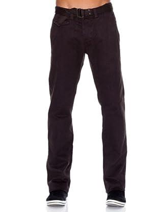 Springfield Pantalón Algodón Chino (marrón)