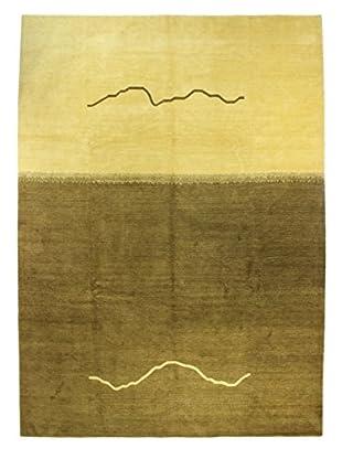 Bashian Tibetan Rug, Green, 10' x 14'