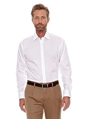 Cortefiel Camisa Popelin (Blanco)