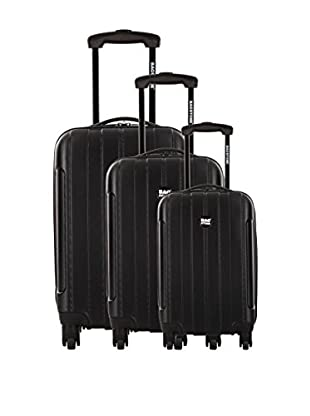 Bag Stone Set de 3 trolleys rígidos Country