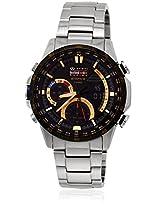 Ex216-Era-300Rb-1Adr Silver/Black Edifice Chronograph Watch Casio