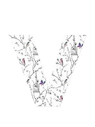 Letra Decorativa Letra V