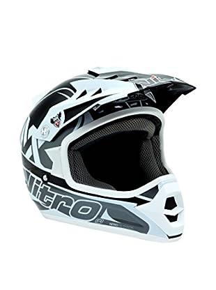 Nitro Casco MX Rider Junior (Negro)