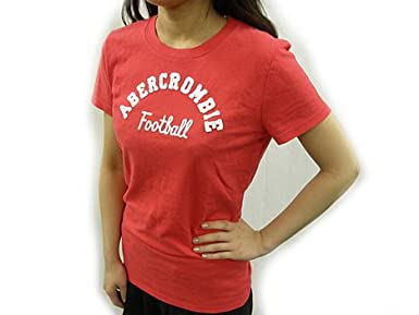 Abercrombie & Fitch (アバクロンビー & フィッチ) Tシャツ ピンク S 並行輸入品