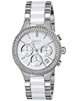 DKNY Chambers Chronograph White Dial Women's Watch - NY8181I