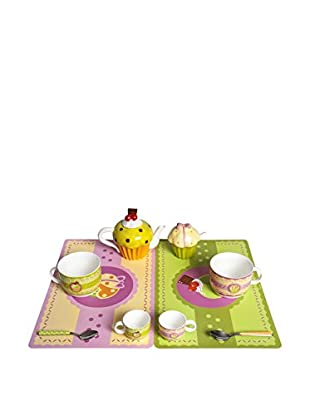 Color Life Frühstückservice 10 tlg. Set The Sweetest Thing mehrfarbig