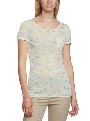 Vero Moda Camiseta Emola (Blanco / Multicolor)