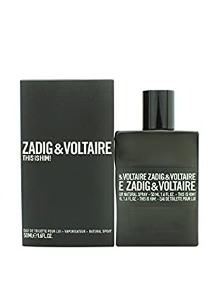 ZADIG & VOLTAIRE Eau de Toilette Herren This Is Him! 50.0 ml, Preis/100 ml: 75.98 EUR