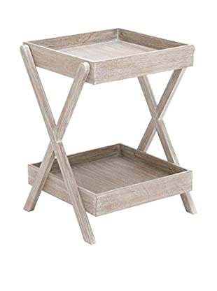 Accent Tray Table, White