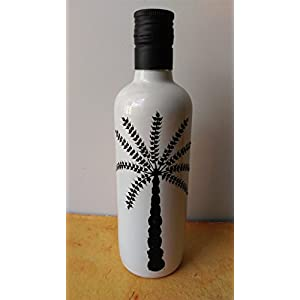 Artiliciously Your'S Worli Tree2 Painting On Recycled Glass Bottle