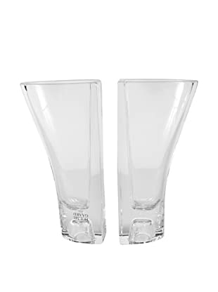 Holmegaard Balance Vase/Candlestick Set, Clear