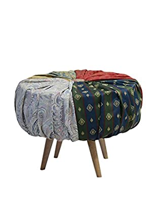 Evergreen Home Pouf