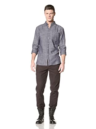 Fremont Men's ACE Pocket Woven Shirt (Chambray Spec)