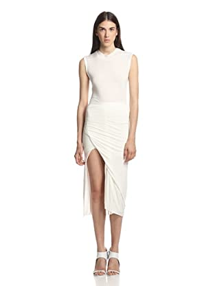 Rick Owens Lilies Women's Draped Skirt (Milk)