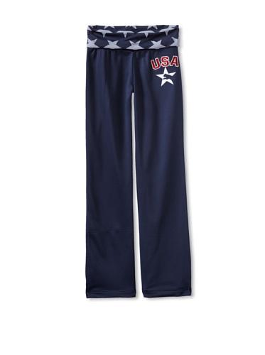 Puma Girl's 7-16 Star Pant (Blue)