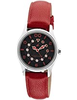 Fastrack Black Dial Analogue Watch for Women (6116SL03)