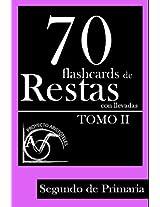 70 flashcards de restas con llevadas para Segundo de Primaria (Tomo 2) (Flashcards de restas con llevadas para 2º de Primaria) (Spanish Edition)