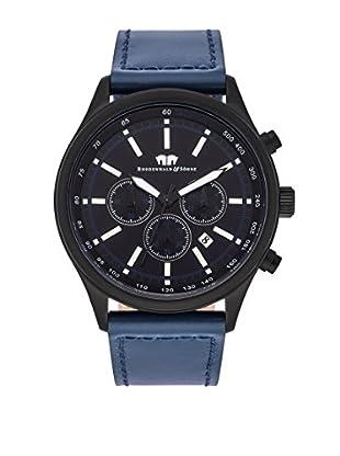 Rhodenwald & Söhne Reloj 10010128 Azul Oscuro Ø 43 mm