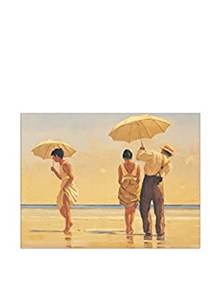 Artopweb Panel Decorativo Vettriano Mad Dogs 60x80 cm Bordo Nero