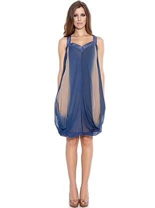 Caramelo Vestido Fiesta (Azul)