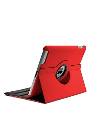 Unotec Funda Rotación 360 Roja iPad2/3/4 Roja