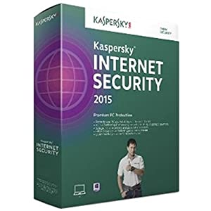 Kaspersky Internet Security 2015 - 3 PCs, 1 Year (CD) (Old Edition)