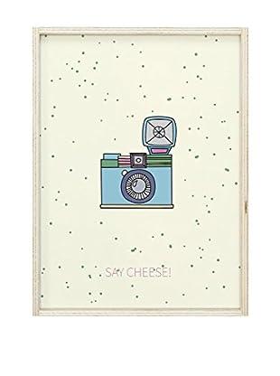 Panel Decorativo Luminoso Lightbox Say Cheese