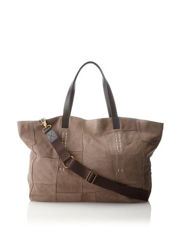 Chocolat Blu Patchwork Tote (Taupe)