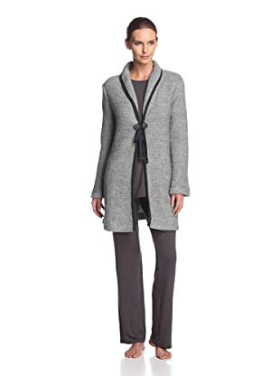 Valery Sleepwear Women's Biancaneve Robe (Grey)