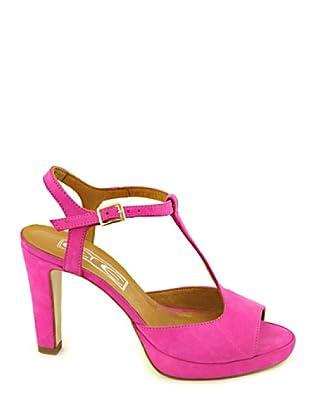 Eye Shoes Sandalias Nobuk (Fucsia)