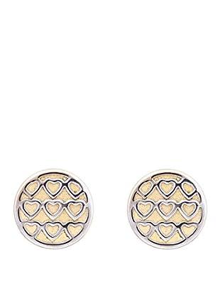 Gold & Diamonds Ohrringe Cuore vergoldet