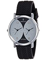 Optima Analog Black::Grey Dial Men's Watch - FT-ANL-2524