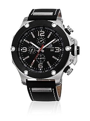 Joshua & Sons Uhr mit Schweizer Quarzuhrwerk JS75SSB 48 mm