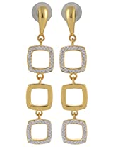 Estelle Spring Collection Gold Plated Dangle & Drop Earrings for Women