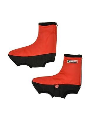 Santini Zapatos Goma Windstopper ® (Rojo)