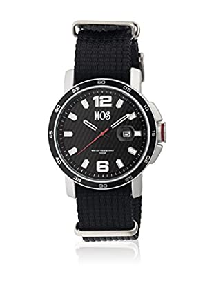 Mos Reloj con movimiento cuarzo japonés Moseb101 Negro 43  mm