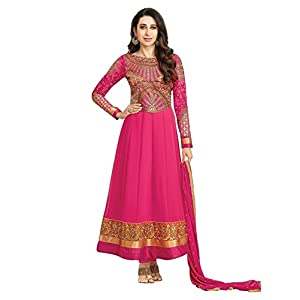 Awesome Projects Beautiful Salwar Suits Karishma Kapoor collection 01, Pink Color