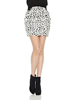 Pepe Jeans London Falda Margit (Negro / Blanco)
