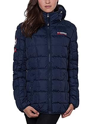 Geographical Norway Abrigo Corto Dana Azul Marino 2XL