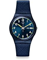 Swatch Sir Blue Unisex Watch Gn718