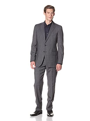 Joseph Abboud Men's Hudson Fit 2-Button Suit (Charcoal)