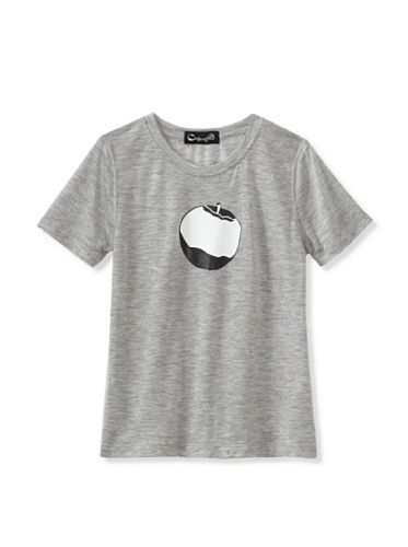 A for Apple Rat T-Shirt with Logo Apple (Grey)