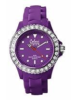 Colori Analog Purple Dial Women's Watch - 5-COL104