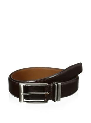 XMI Men's Scale Dress Belt (Brown)