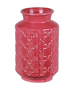 Privilege International Small Ceramic Pink Vase