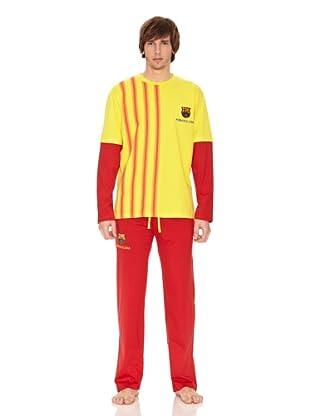 Barça Pijama (Amarillo / Rojo)