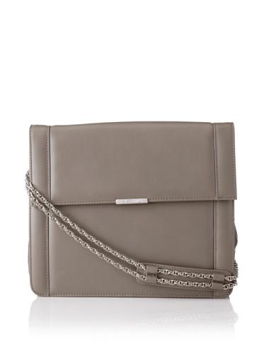 Jason Wu Women's Structured Leather Shoulder Bag, Grey