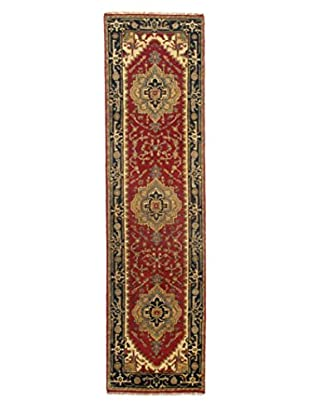 Momeni Indo-Serapi One-of-a-Kind Rug, Soft Antique Red, 2' 8