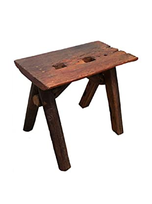 Asian Art Imports Teakwood Stool
