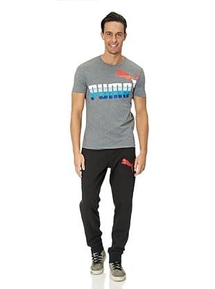 Puma T-Shirt Sunbleach (medium gray heather)